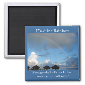 Imán del arco iris de Huahine