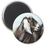 Imán del arte de la cabra de Nubian
