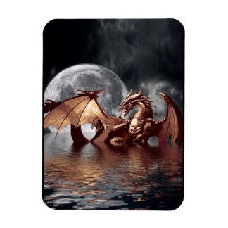 Imán del arte de la fantasía del dragón y de la