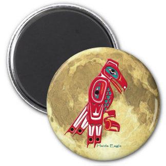 Imán del arte del nativo americano del HAIDA EAGLE