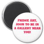 Imán del arte del refrigerador