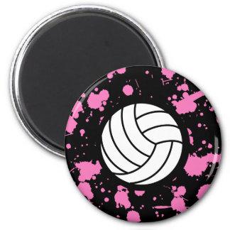Imán del arte del voleibol
