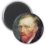 Imán del autorretrato de Van Gogh