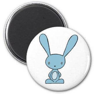 Imán del azul del conejito