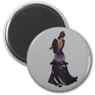 Imán del bailarín del flamenco