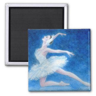 Imán del ballet del lago swan