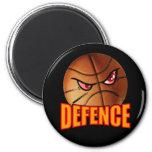 Imán del baloncesto de la defensa