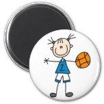 Imán del baloncesto del deporte