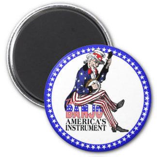 Imán del banjo de América