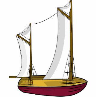Imán del barco imán fotoescultura