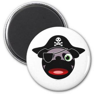 imán del barro amasado del pirata