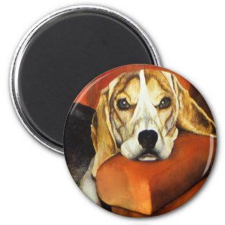 Imán del beagle de Lucy