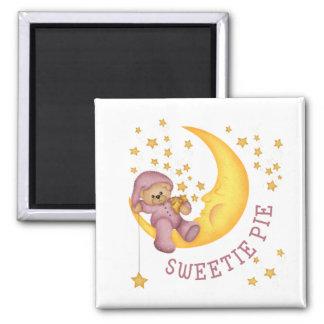 Imán del bebé de la empanada del Sweetie