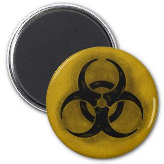 Imán del Biohazard del zombi