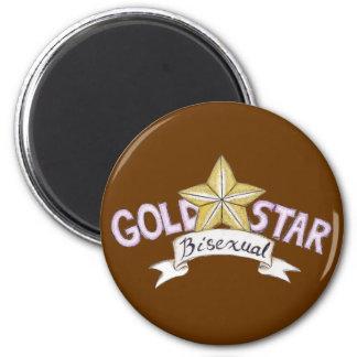 Imán del Bisexual de la estrella del oro