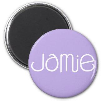 Imán del blanco de Jamie