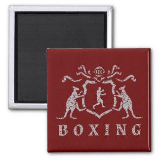 Imán del blasón del boxeo