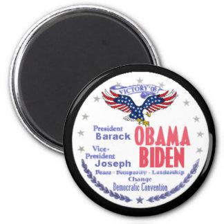 Imán del boleto de Obama Biden