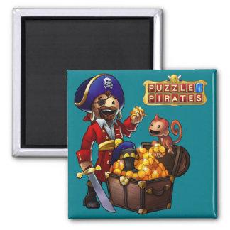 Imán del botín del pirata