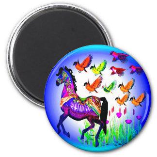 Imán del caballo de la fantasía