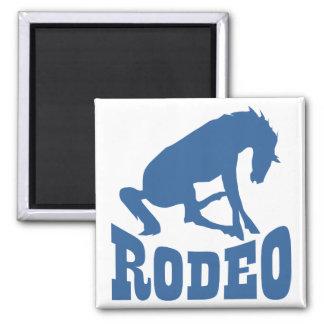 Imán del caballo del rodeo