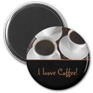 Imán del café sólo