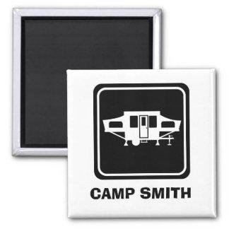 Imán del campista de Camp Smith