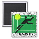 Imán del campo de tenis