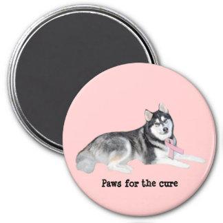 Imán del cáncer de pecho del husky siberiano