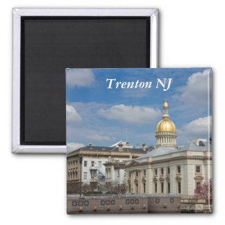 Imán del capitolio del estado de Trenton