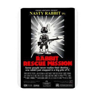 Imán del cartel de película de la misión de