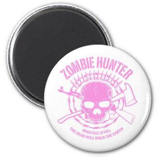 Imán del cazador del zombi