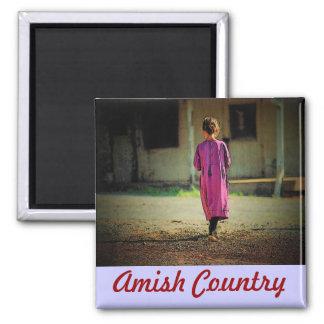 Imán del chica de Amish