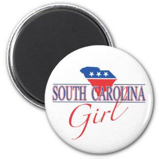 Imán del chica de Carolina del Sur