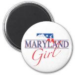 Imán del chica de Maryland