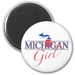 Imán del chica de Michigan