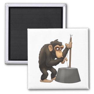 Imán del chimpancé del Washtub-Bajo-Playin'