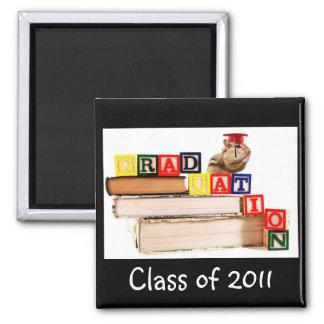 Imán del Chipmunk de la graduación