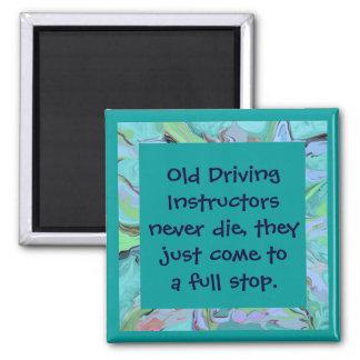 imán del chiste de los instructores de conducción