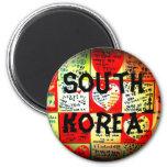Imán del círculo de la Corea del Sur