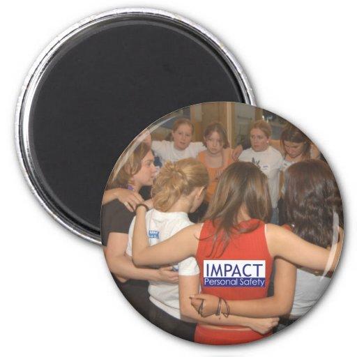 Imán del círculo del IMPACTO