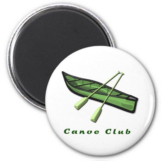 Imán del club de la canoa
