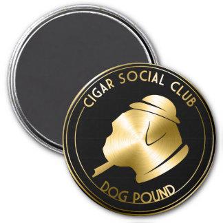 Imán del club social del cigarro