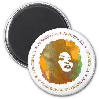 Imán del coche de Afrobella