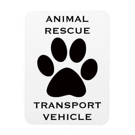 Imán del coche: Vehículo de transporte animal del