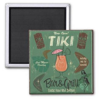 Imán del cóctel de Tiki Bar&Grill