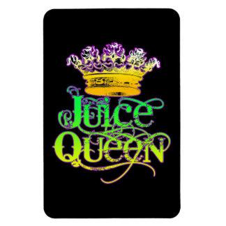 Imán del color de la reina del jugo