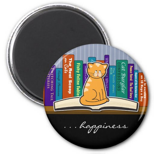 Imán del compinche del libro del gato