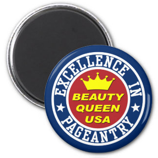 Imán del concurso de belleza