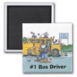 Imán del conductor del autobús